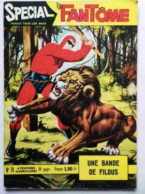 LE FANTOME (spécial) 1e série N° 78 Une bande filous – REMPARTS 1970