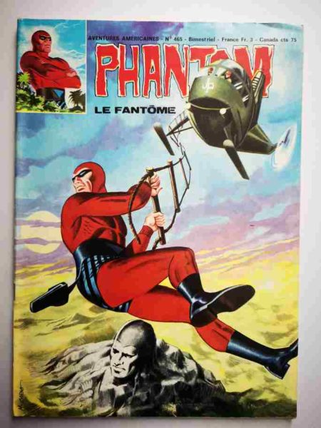 BD Le Fantôme N° 465 La petite fille - Lee Falk - Flash Gordon