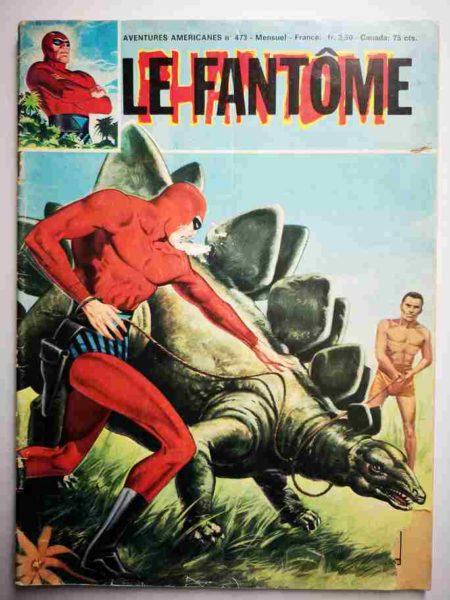 BD Le Fantôme N° 473 L'histoire de Joonkar - Flash Gordon