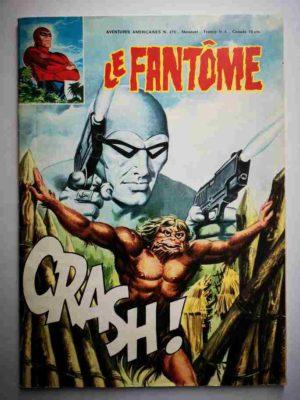 LE FANTOME N° 478 Une fureur soudaine – Remparts 1979