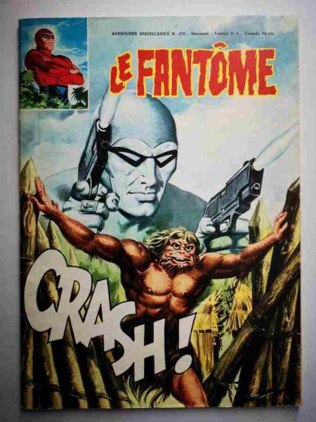BD Le Fantôme N° 478 Une fureur soudaine - Johnny Hazard - Raoul et Gaston