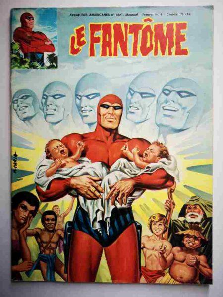 BD Le Fantôme N° 482 Fête à la caverne du crâne - Flash Gordon
