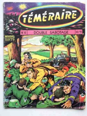 TEMERAIRE (1E SERIE) N°10 TOMIC (Double sabotage) ARTIMA 1959