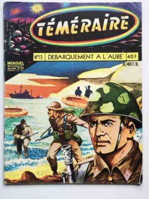TEMERAIRE (1E SERIE) N°13 TOMIC (Débarquement à l'aube) ARTIMA 1959