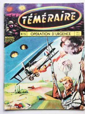 TEMERAIRE (1E SERIE) N°15 TOMIC (Opération Urgence) ARTIMA 1959