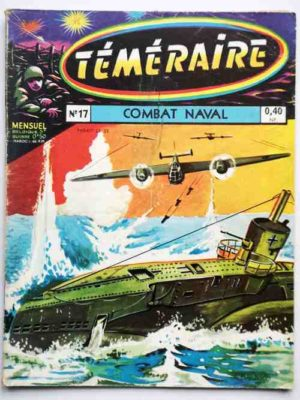 TEMERAIRE (1E SERIE) N°17 TOMIC (Combat naval) ARTIMA 1960