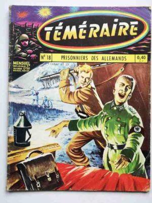 TEMERAIRE (1E SERIE) N°18 TOMIC (Prisonniers des Allemands) ARTIMA 1960