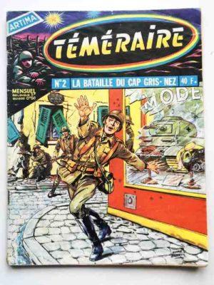 TEMERAIRE (1E SERIE) N°2 TOMIC (La bataille du Cap Gris-Nez) ARTIMA 1958