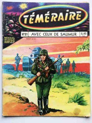 TEMERAIRE (1E SERIE) N°21 TOMIC (Avec ceux de Saumur) ARTIMA 1960