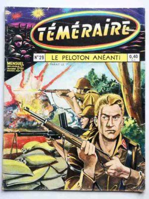 TEMERAIRE (1E SERIE) N°29 TOMIC (Le peloton anéanti) ARTIMA 1961