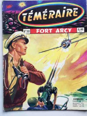 TEMERAIRE (1E SERIE) N°30 TOMIC (Fort Arcy) ARTIMA 1961