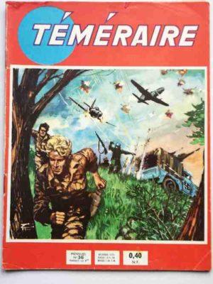 TEMERAIRE (1E SERIE) N°36 TOMIC (Agent de liaison) ARTIMA 1961