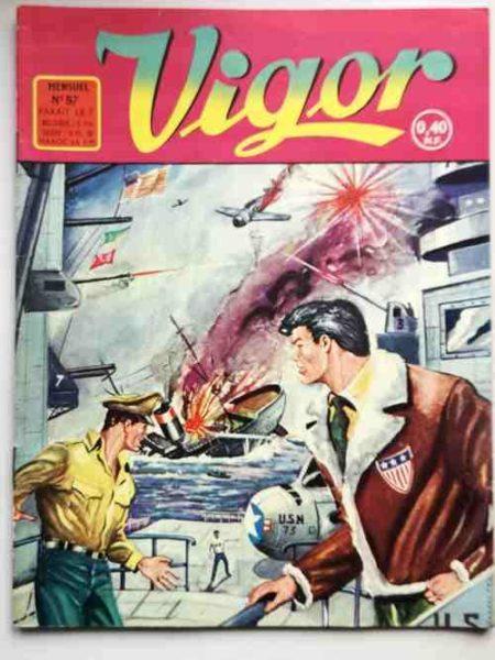 BD VIGOR (Artima) N°97 L'express de Tokio (R.R. Giordan) Ray Nouvelles