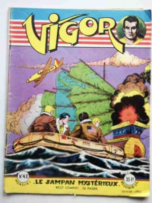 VIGOR N°41 Le sampan mystérieux (Artima 1957)