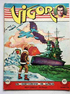 VIGOR N°69 La forteresse de glace – ARTIMA 1959