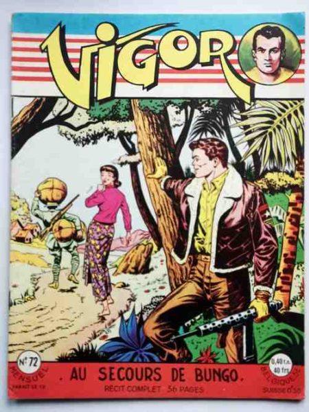 BD VIGOR N°72 Au secours de Bungo (R. R. Giordan) Bob Corton - ARTIMA