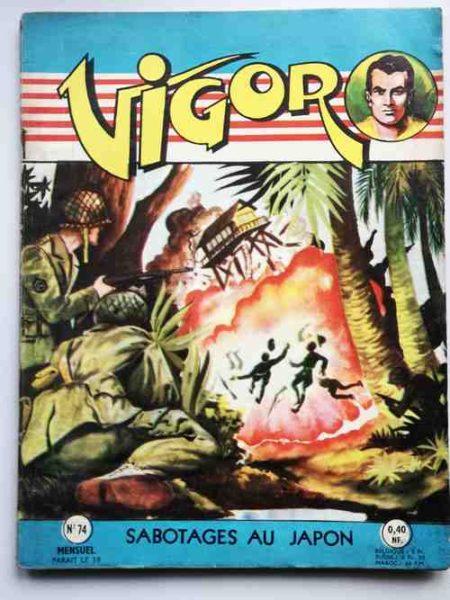 BD VIGOR N°75 Vaisseaux Fantômes (R. R. Giordan) Bob Corton - ARTIMA