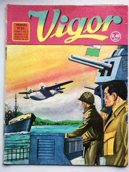 BD VIGOR N°93 Guadalcanal (R.R. Giordan) - Artima