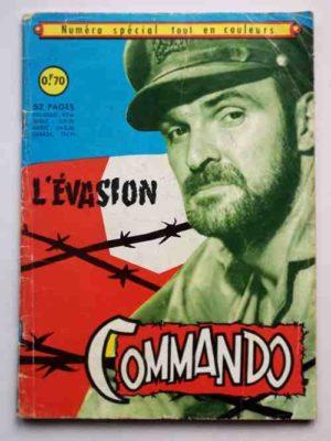 COMMANDO numéro spécial – L'évasion (Aredit 1968)