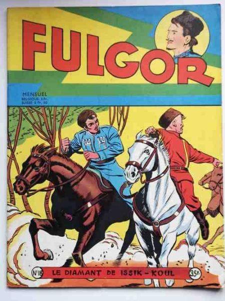 FULGOR (Artima) N°18 Le diamant de Issik-Koul (Bild) Marc (Jean Mortier) 1956