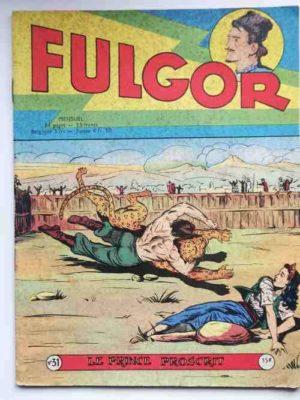 FULGOR N°31 Le prince proscrit (Artima 1957)