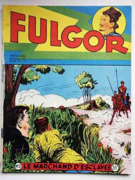 FULGOR (Artima) N°32 Le Cosaque de la Volga (Le chauffeur de taxi, dessins de Bild)