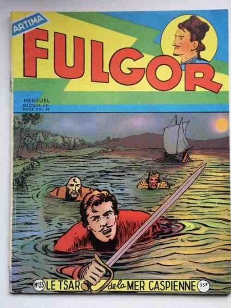 FULGOR (Artima) N°33 Le Cosaque de la Volga