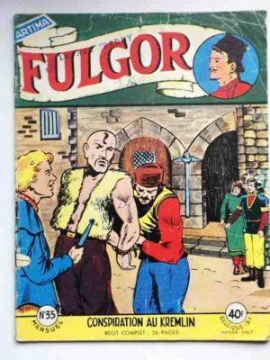 FULGOR N°35 Conspiration au Kremlin (Artima 1958)