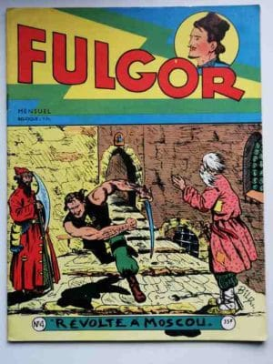 FULGOR N°4 Révolte à Moscou (Artima 1955)