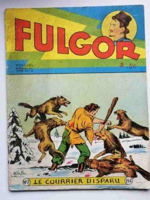 FULGOR N°7 Le courrier disparu (Artima 1955)