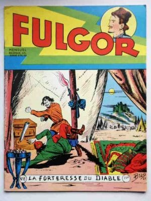 FULGOR N°8 La forteresse du diable (Artima 1955)