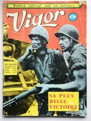 VIGOR Numéro Spécial – Sa plus belle victoire – AREDIT 1968