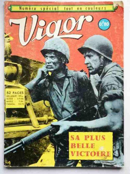 VIGOR (Aredit) Numéro Spécial - Sa plus belle victoire (BD de guerre)