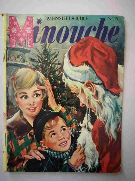 BD MINOUCHE n°15 Joyeux Noël (IMPERIA 1963)
