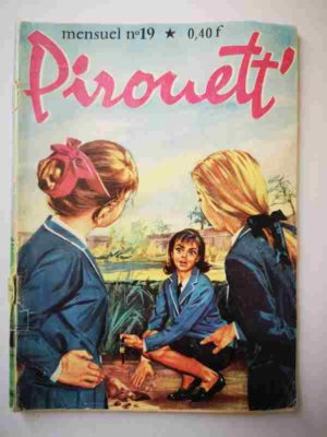 PIROUETT N°19 Un voleur à Ste Claire – IMPERIA 1964