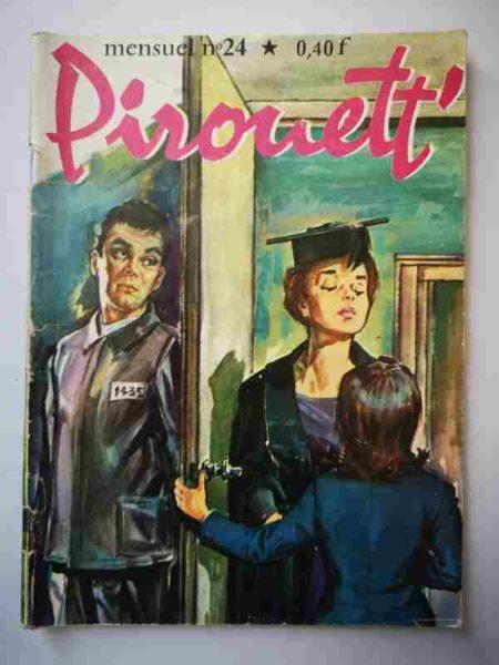 BD PIROUETT N°24 L'évadé - IMPERIA 1964
