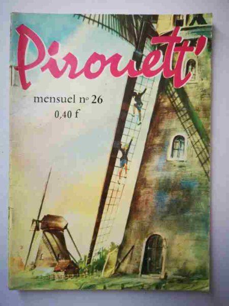 BD PIROUETT N°26 La vraie coupable - IMPERIA 1964