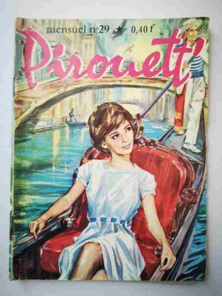 BD PIROUETT N°29 Silvana à Venise - IMPERIA 1965