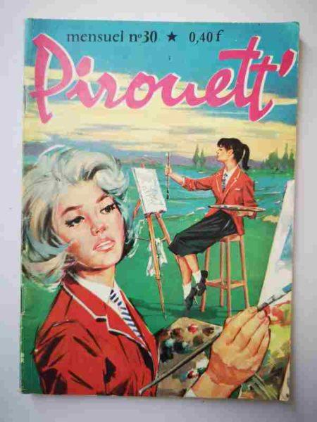 BD PIROUETT N°30 Les tableaux volés - IMPERIA 1965