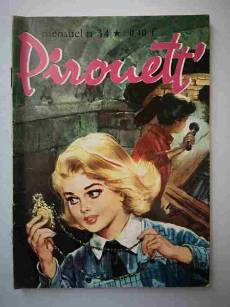 BD PIROUETT N°34 La doublure - IMPERIA 1965