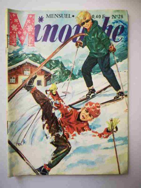 BD MINOUCHE n°28 Vacances de neige (IMPERIA 1965)