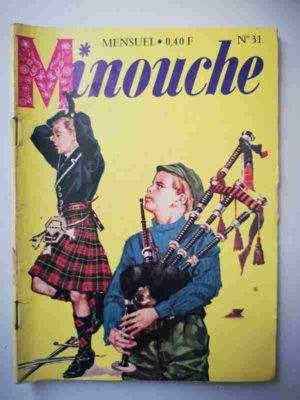 MINOUCHE n°31 Aventure Ecossaise (IMPERIA 1965)