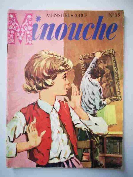 BD MINOUCHE n°33 La petite anglaise de Paris (IMPERIA 1965)