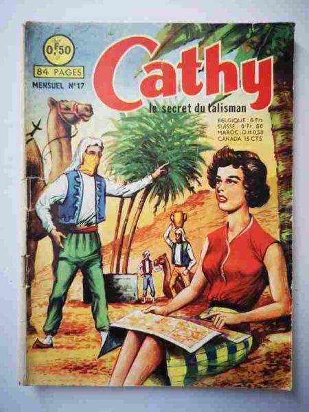 BD CATHY N°17 Le secret du talisman - ARTIMA 1964