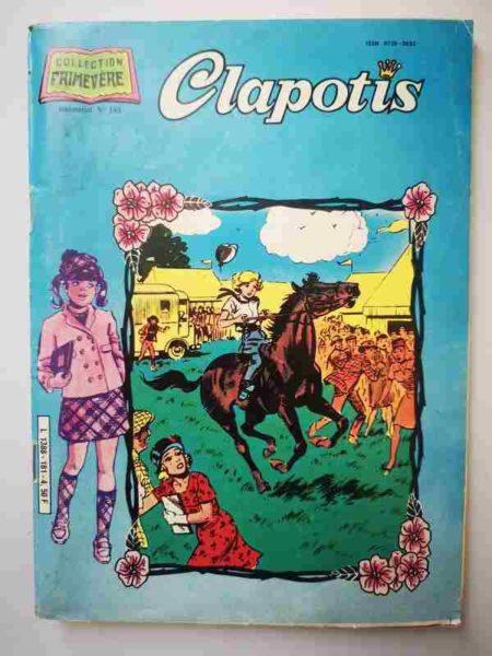 BD CLAPOTIS N°181 Le studio sept - AREDIT 1984