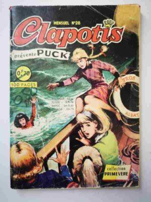 CLAPOTIS N°28 Puck face à l'aventure – AREDIT 1968