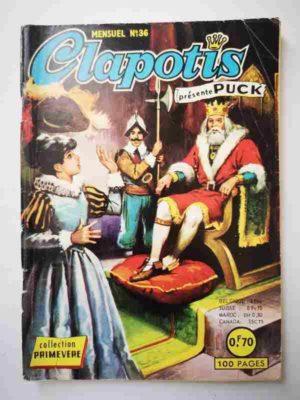 CLAPOTIS N°36 Puck fait du cinéma – AREDIT 1968