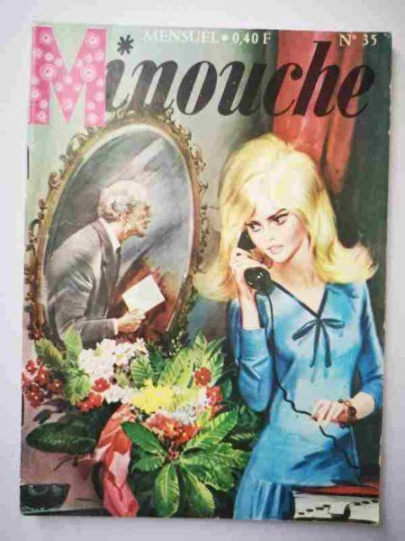 BD MINOUCHE n°35 Norma et les espions (IMPERIA 1965)