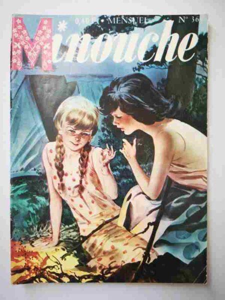 BD MINOUCHE n°36 Le sosie (IMPERIA 1965)