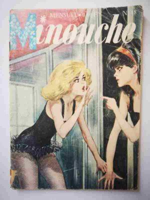 MINOUCHE n°48 Le miroir secret (IMPERIA 1966)